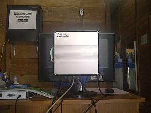 Contoh Pemasangan Di Belakang LCD